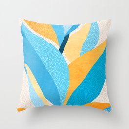 Fire and Ice / Light Palette Throw Pillow