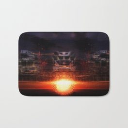"""On The Horizon"" by Barry James Lee Bath Mat"