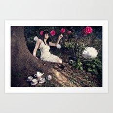 Alice In Memoriam Art Print
