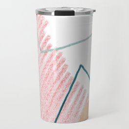 Stitched Abstraction #4 Travel Mug