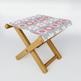 Peggy Pink Folding Stool