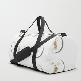 angels under the  sun and peace doves Duffle Bag
