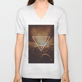 How did I get here? Musical Concert Unisex V-Neck
