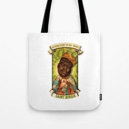 Saint Biggie! Tote Bag