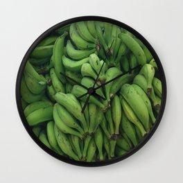 Platano Verde Wall Clock