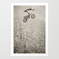 COD Dead Body in a Blizzard, FMX Japan Art Print