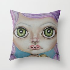 Awkward  Throw Pillow