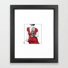 asc 165 - Le regard inversé (d'après zzitlali) Framed Art Print