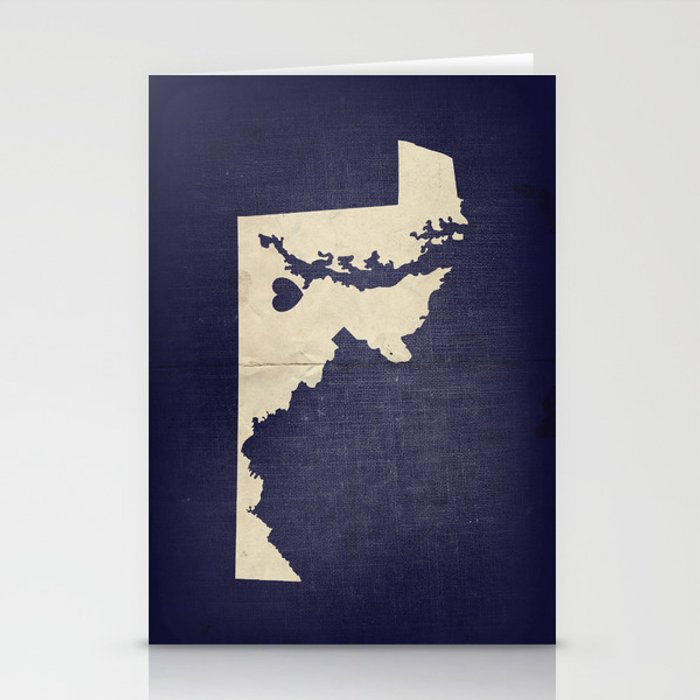 Baltimore, Maryland Love Stationery Cards