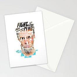 Tyler Durden Stationery Cards