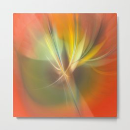 abstract lighteffects -4- Metal Print