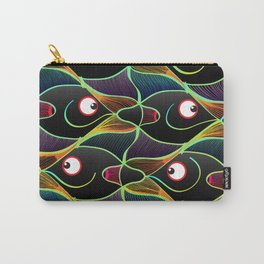 A World Full of Smiling Fishes Carry-All Pouch