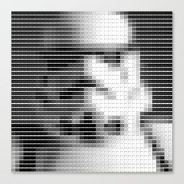 Storm Trooper - StarWars - Pantone Swatch Art Canvas Print