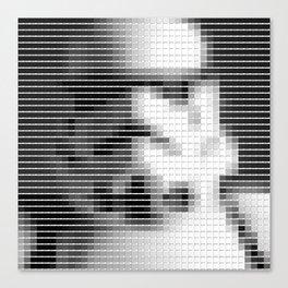 Storm Trooper - StarWars - Pantone Swatch Art Canvas Print
