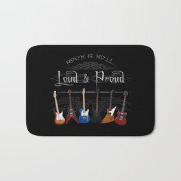 Loud and Proud Guitars Bath Mat