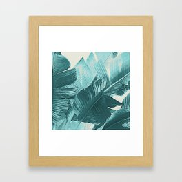 Banana Palm Framed Art Print