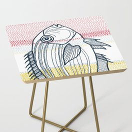 Stitches: Fish Side Table