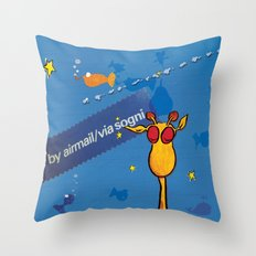 sogni - dreams Throw Pillow