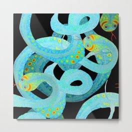 Snakes Metal Print
