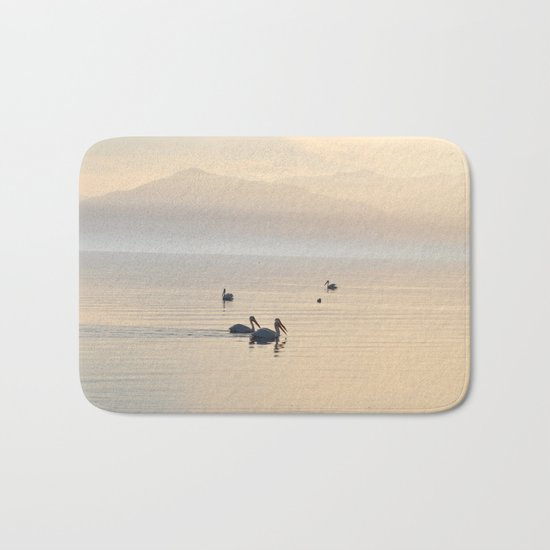 MYSTERIOUS SALTON SEA Bath Mat