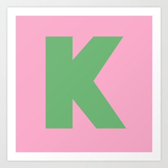 K is for... Art Print