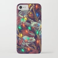 baby iPhone & iPod Cases featuring Baby it's Toad Outside by Kate O'Hara Illustration