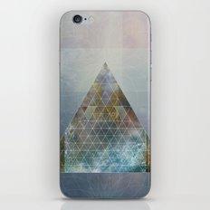Perseid - Contemporary Geometric Pyramid iPhone Skin