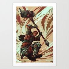 Krempuff Art Print