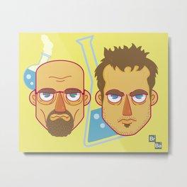 Mr White And Jesse Pinkman / Breaking Bad  Metal Print