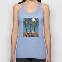 starlit foxes Unisex Tank Top