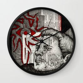 Ser Cullen Stanton Rutherford Wall Clock