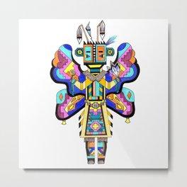 Kachina Butterfly 4 Metal Print