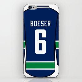 Brock Boeser Jersey iPhone Skin