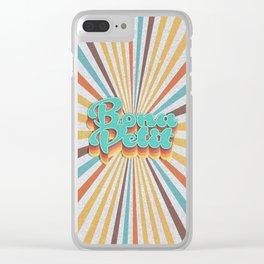 Bona Petit Clear iPhone Case