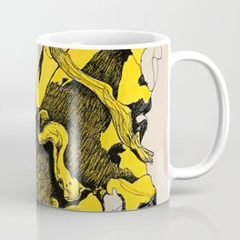 The Tree Trunk Man Coffee Mug