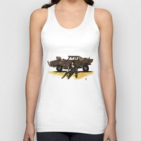mad max Tank Tops featuring MAD MAX by Gregory Casares