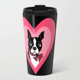 Boston Terrier Love Travel Mug