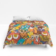 Weird Guys Pattern Comforters