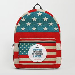 Preserved us a Nation Backpack