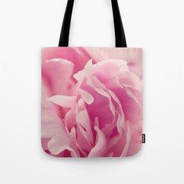 Pink Peony Petals Tote Bag