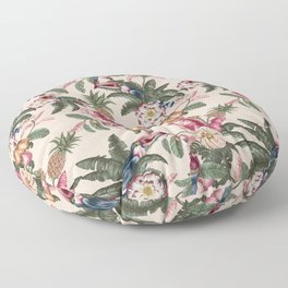 tropical festival Floor Pillow