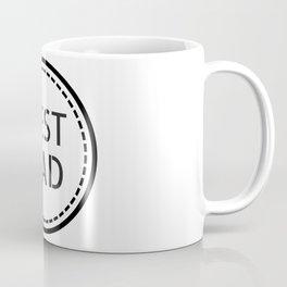 Best Dad #minimalism Coffee Mug