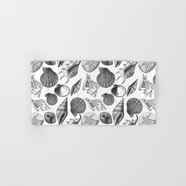 Sea and Ocean Life-Shell Pattern - Mix & Match with Simplicity of life Hand & Bath Towel