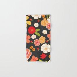 Farmers Market Floral Hand & Bath Towel
