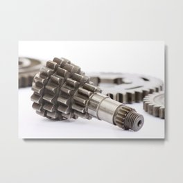 Pinion gear Metal Print