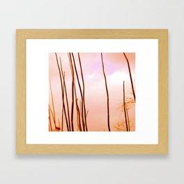 Alien Reeds Framed Art Print