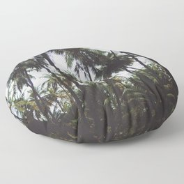 FOREST - PALM - TREES - NATURE - LANDSCAPE - PHOTOGRAPHY Floor Pillow