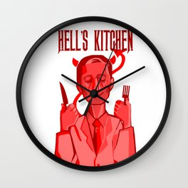 Hell's Kitchen Wall Clock