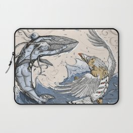 Raven and the Whale Laptop Sleeve