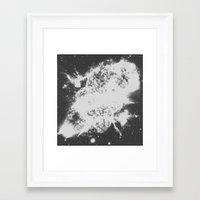 big bang Framed Art Prints featuring Big Bang by Jonasethomsen